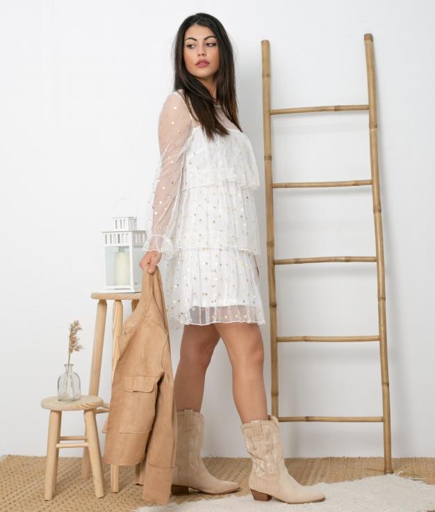 Vestido Blou - White