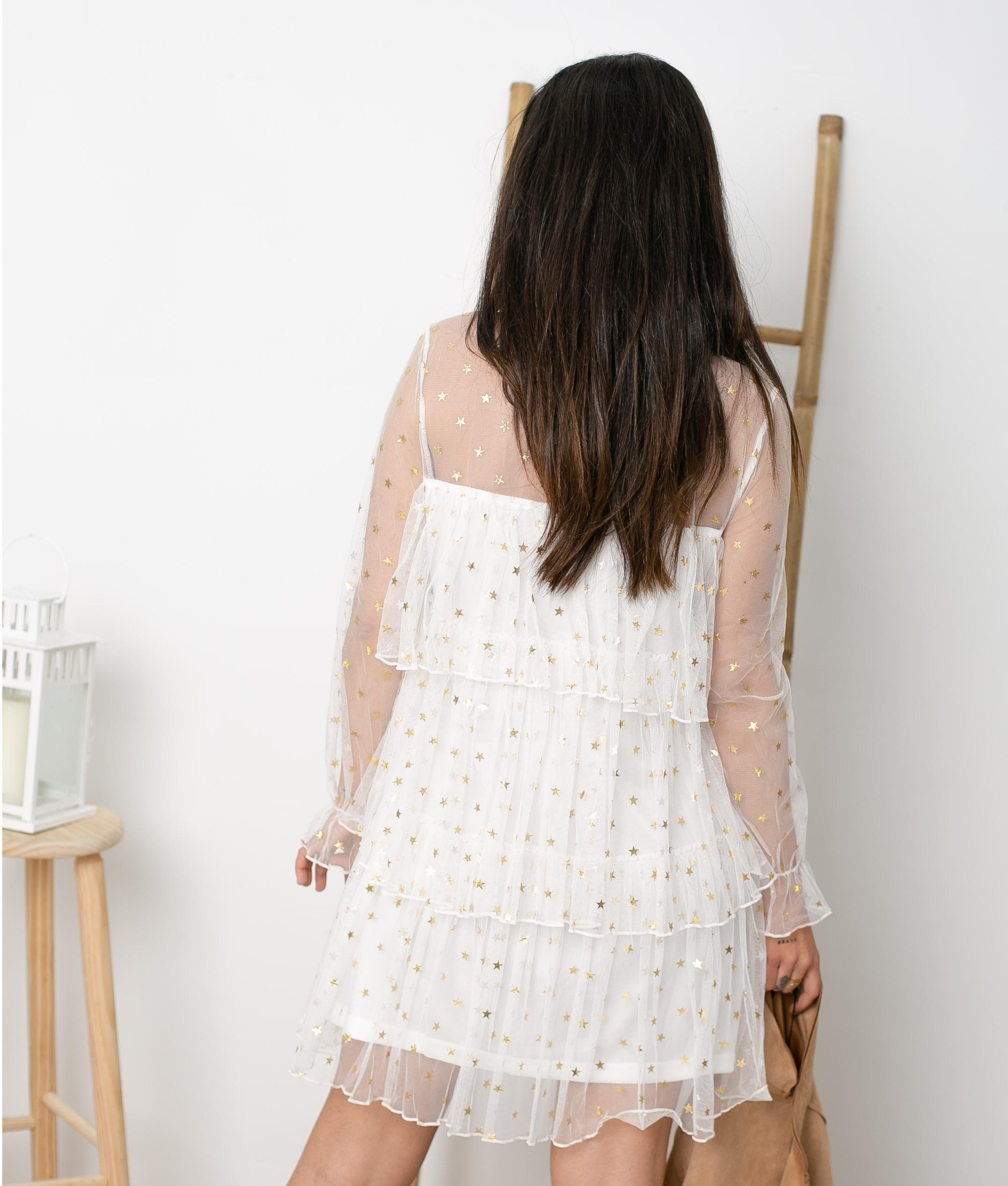 Vestido Blou - blanc