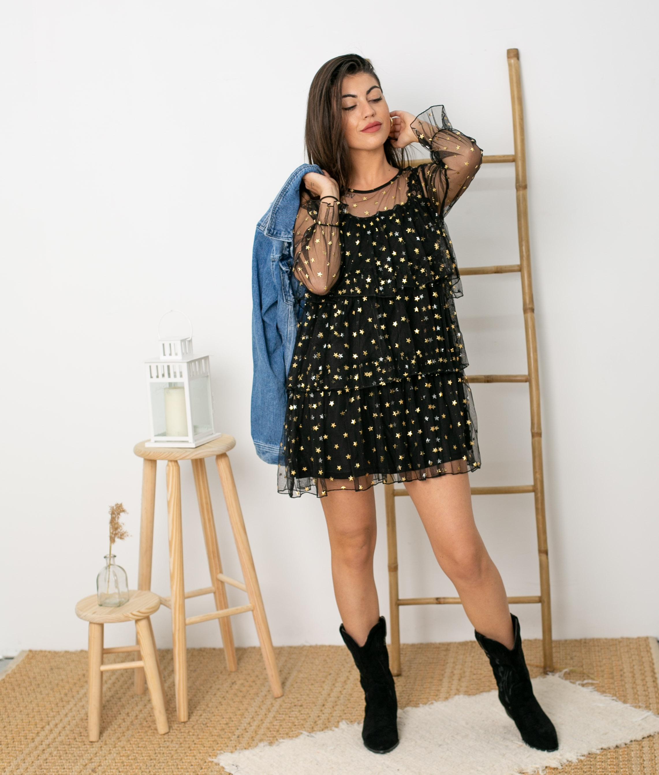 Vestido Blou - Negro