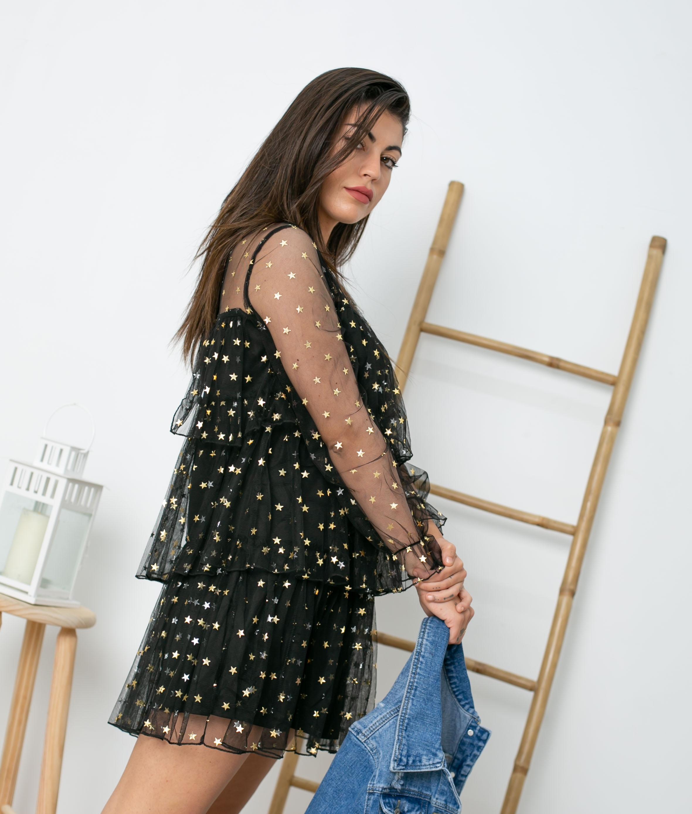 Vestido Blou - Noir