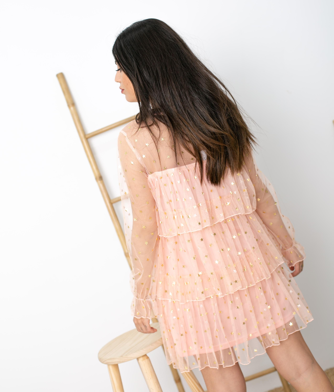 Vestido Blou - Rosa