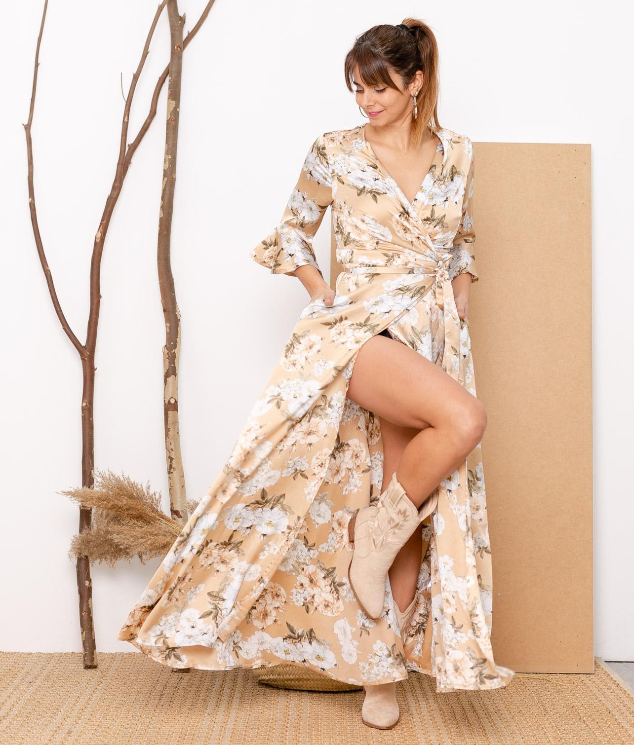 Vestido Doga - Apricot