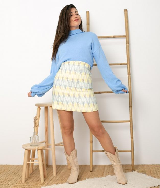 Falda Licane - Amarillo