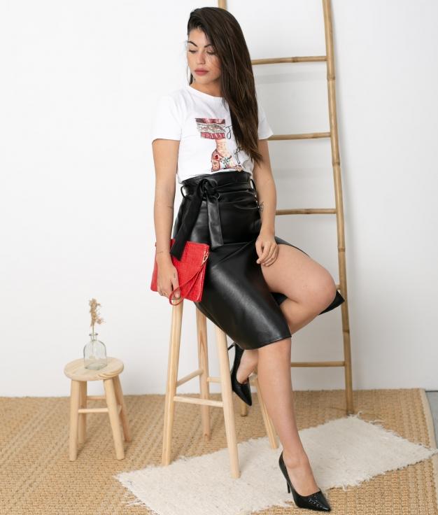 Skirt Chadey - Black