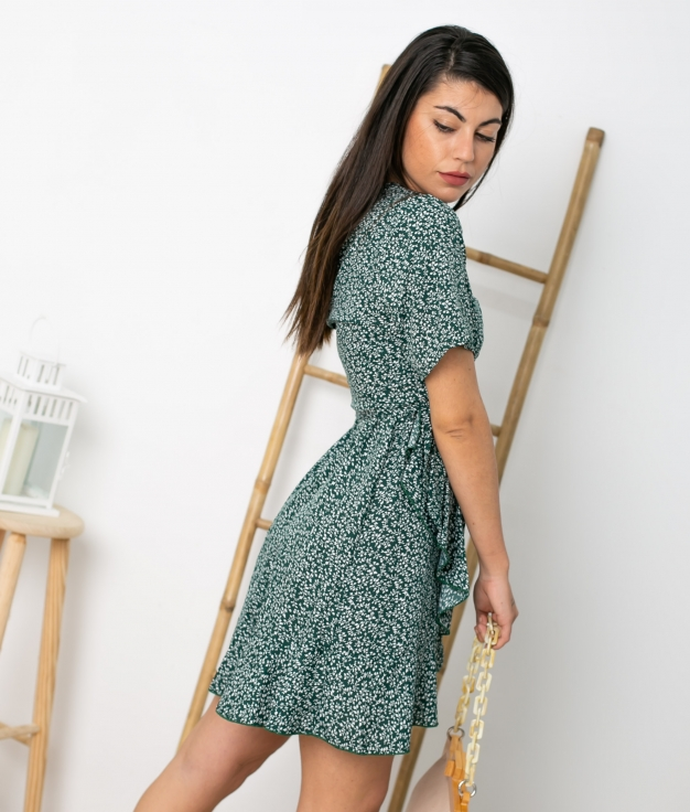 Vestido Tamis - Verde