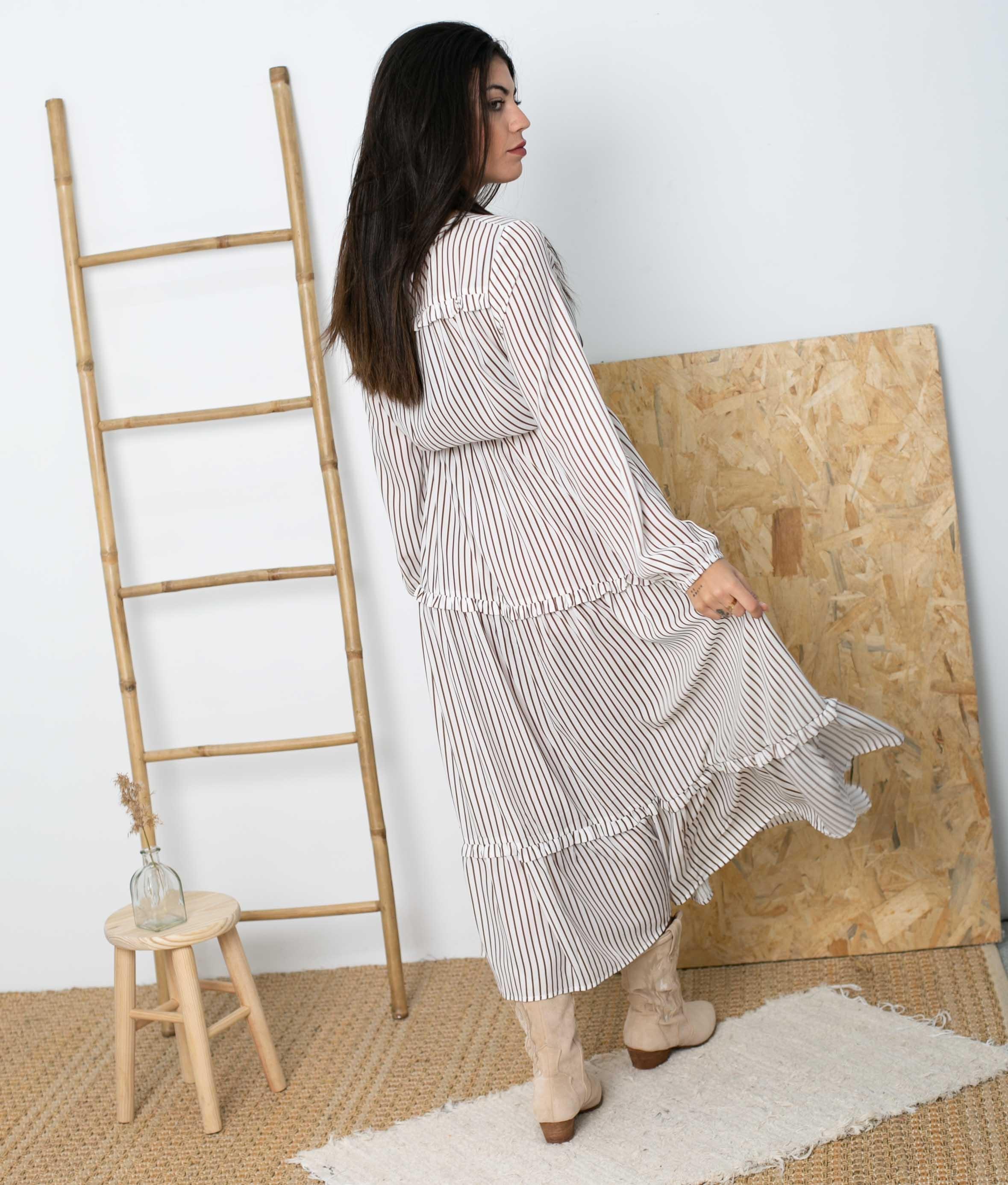 Vestido Lausat - Blanco