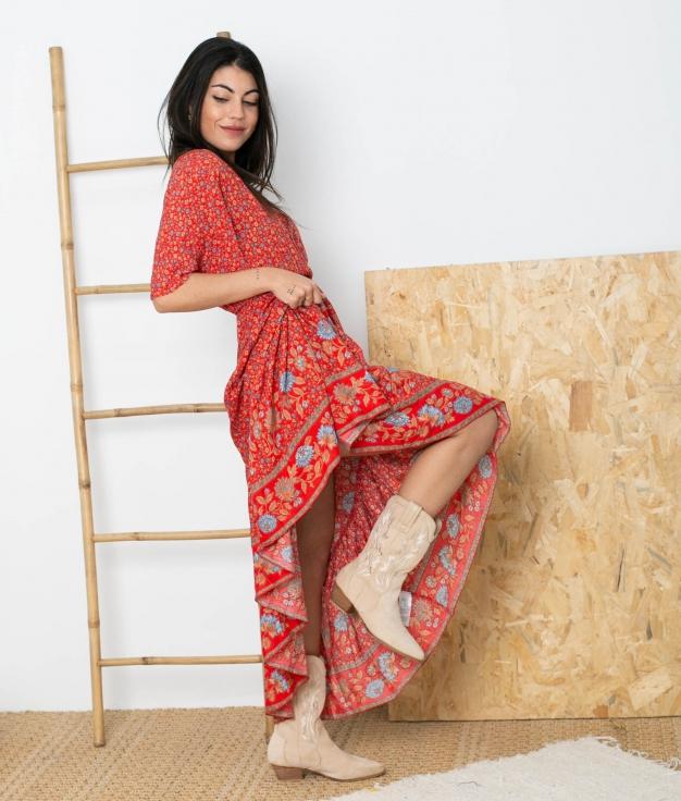 Vestido Traver - Rojo