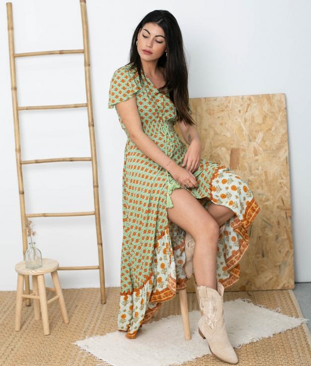 Vestido Mamber - Verde