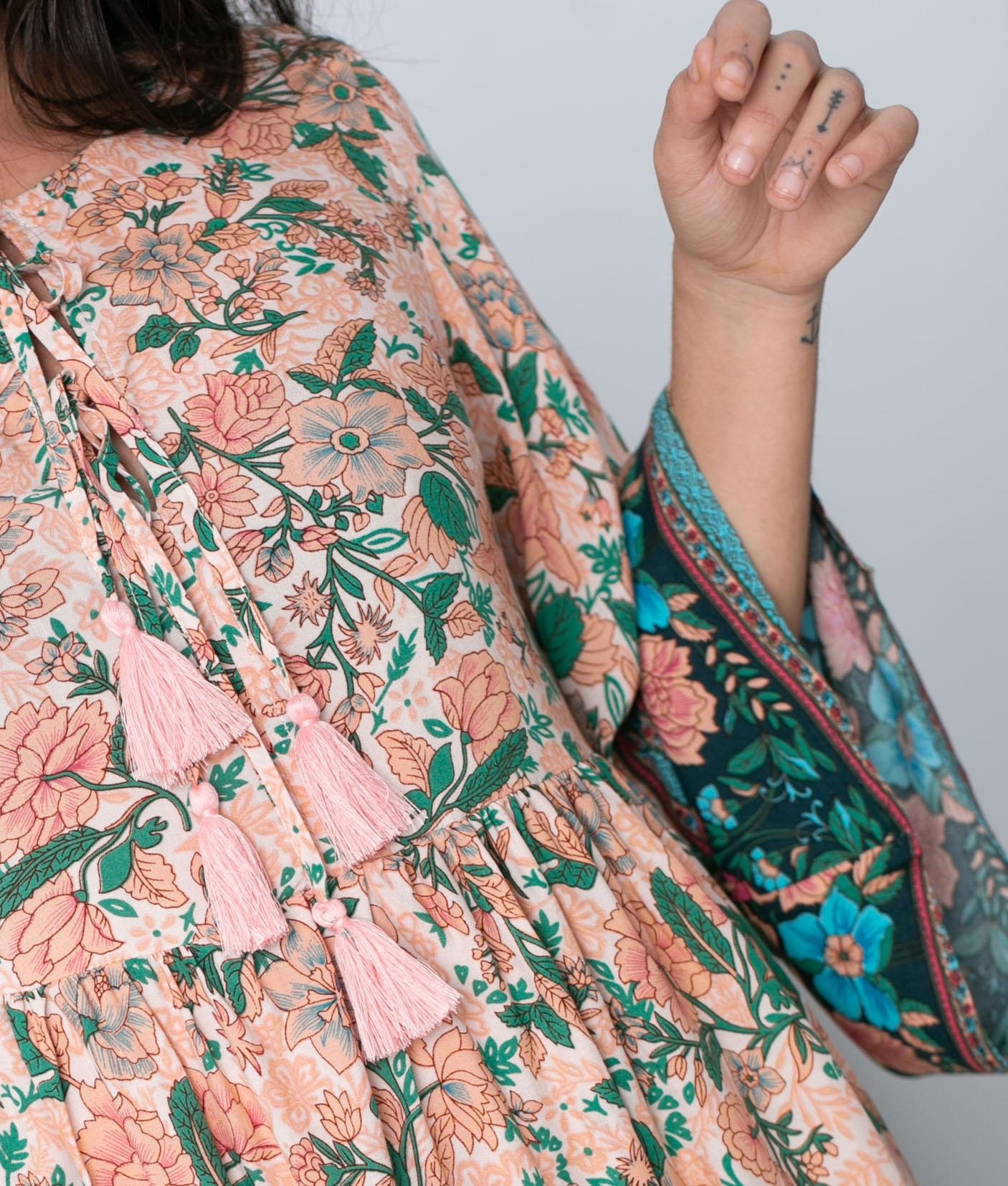 Vestido Nisder - Rosa