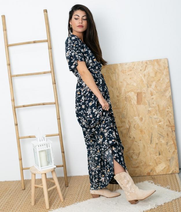 Vestido Varide - Azul Marino