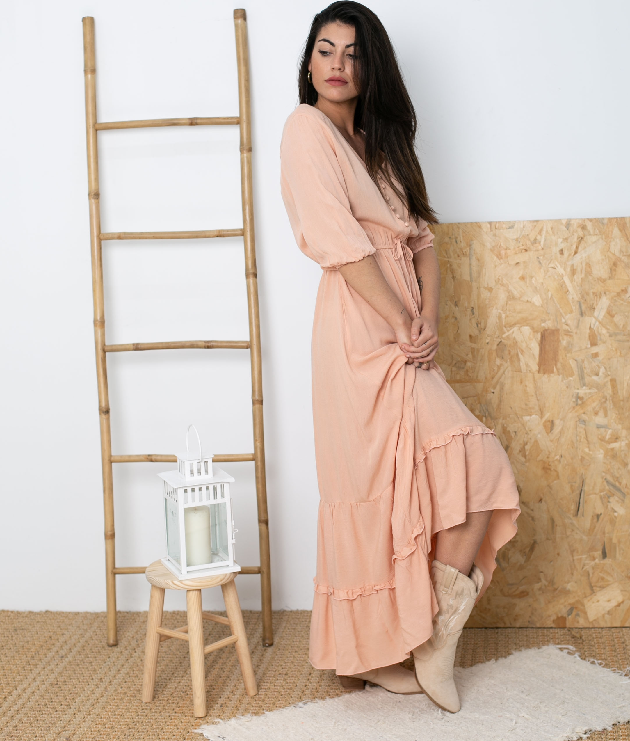 Vestido Balea - Rosa