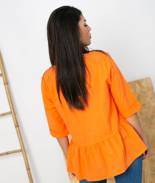 Blusa Marien - Naranja