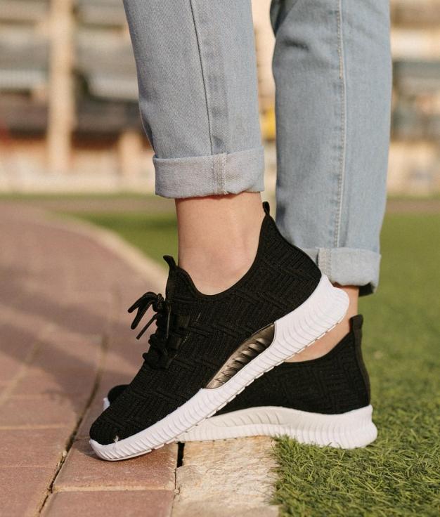 Sneakers Menfar - Negro