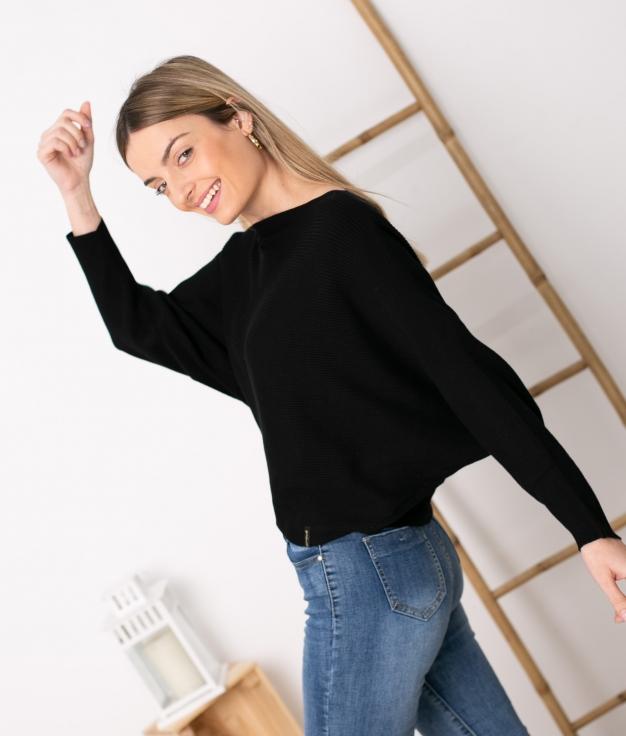 Sweater Davos - Black