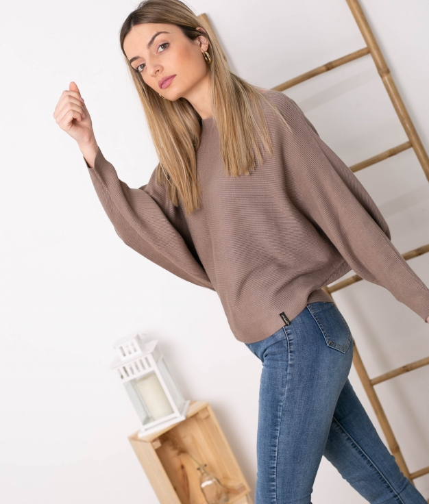 Sweater Davos - Taupe