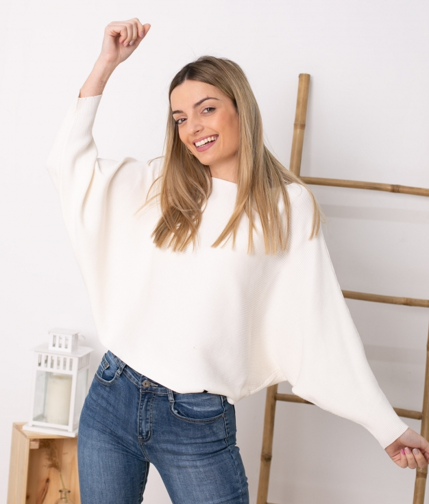 Sweater Davos - White