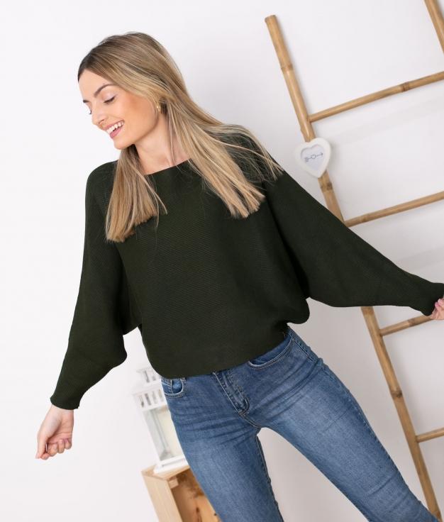 Sweater Davos - Khaki