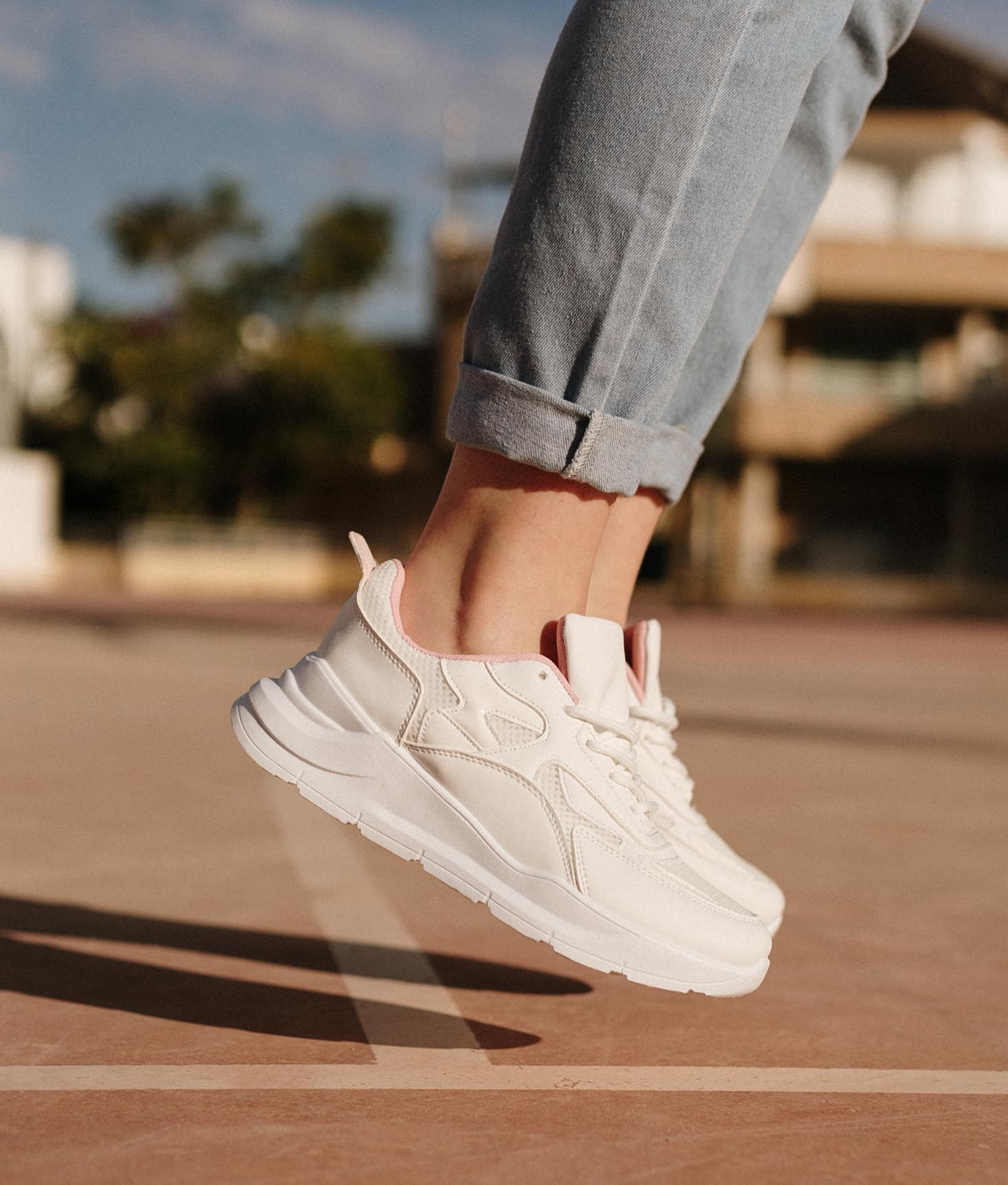 Sneakers Zalala - Bianco