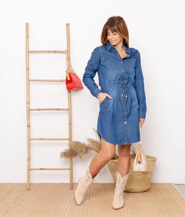 Dress Monsi - Denim