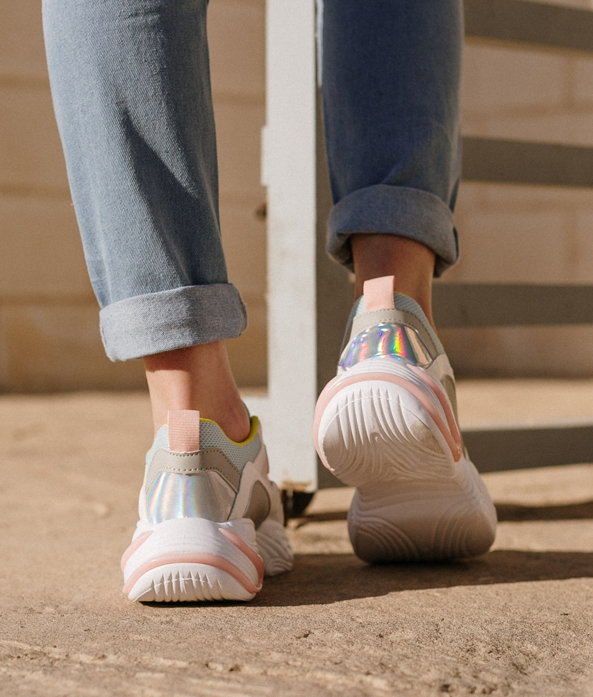 Sneakers Alicún - Rosa