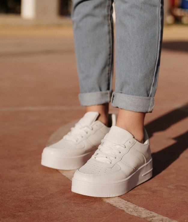 Sneakers Fesalo - Blanco