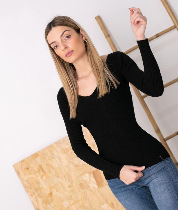 Sweater Sileda - Black