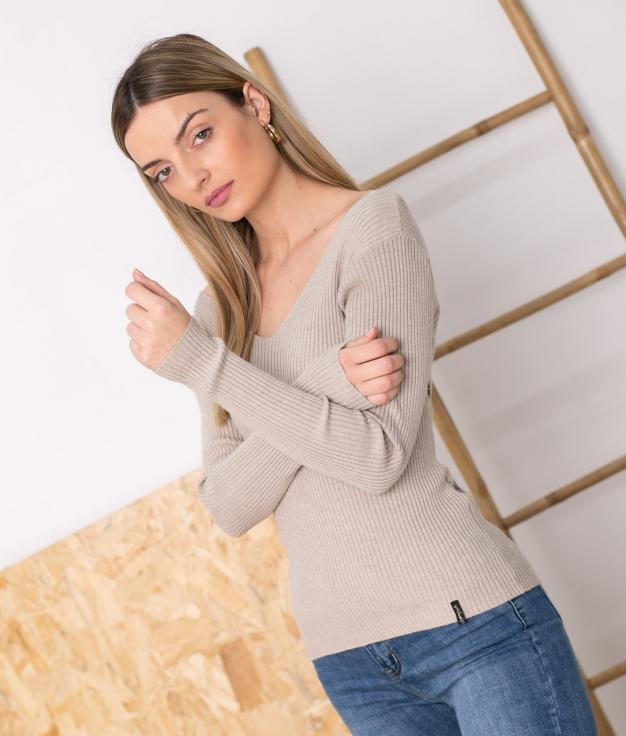 Sweater Sileda - Beige