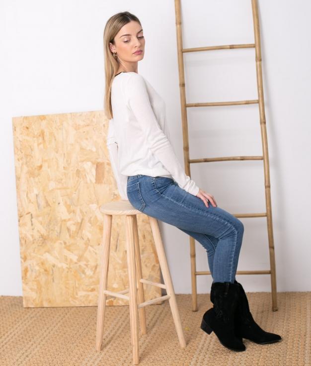 Sweater Caitriona - White