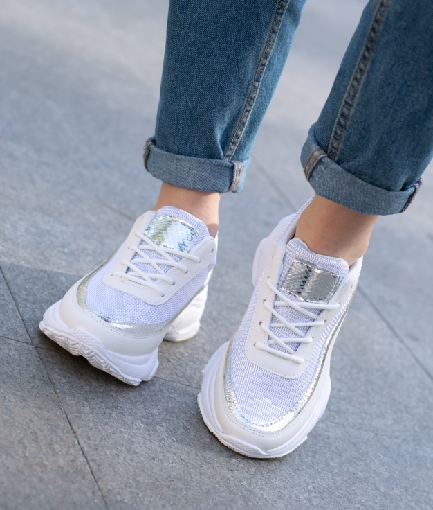 Sneakers Purino - Silver
