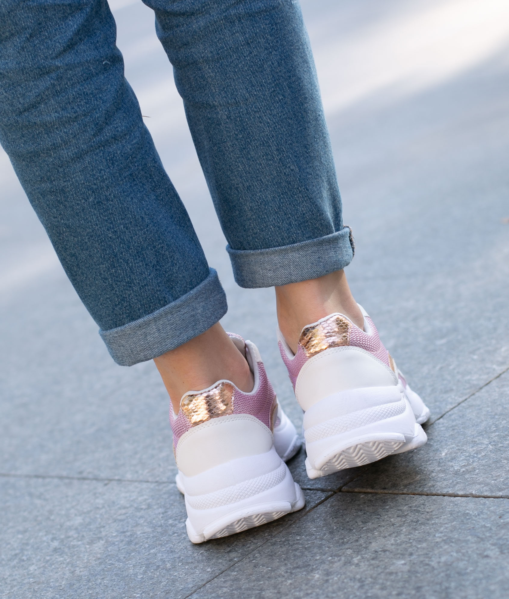 Sneakers Purino - Rosa