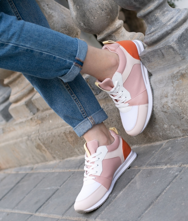 Sneakers Pinsi - Pink