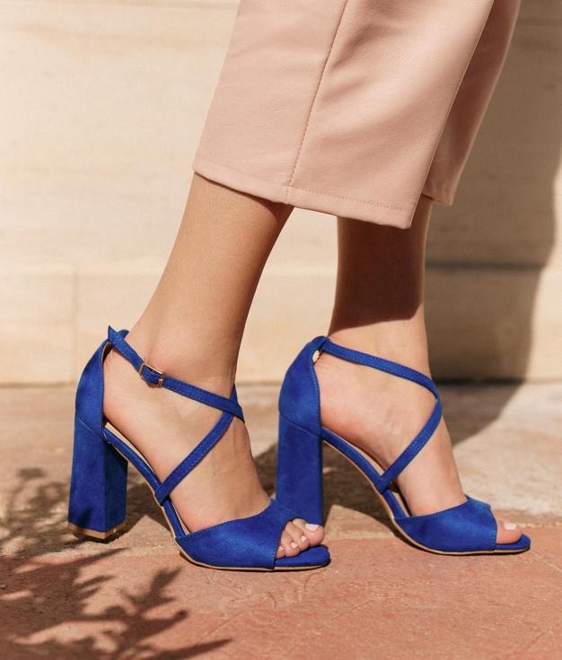 High Sandal Barny - Blue