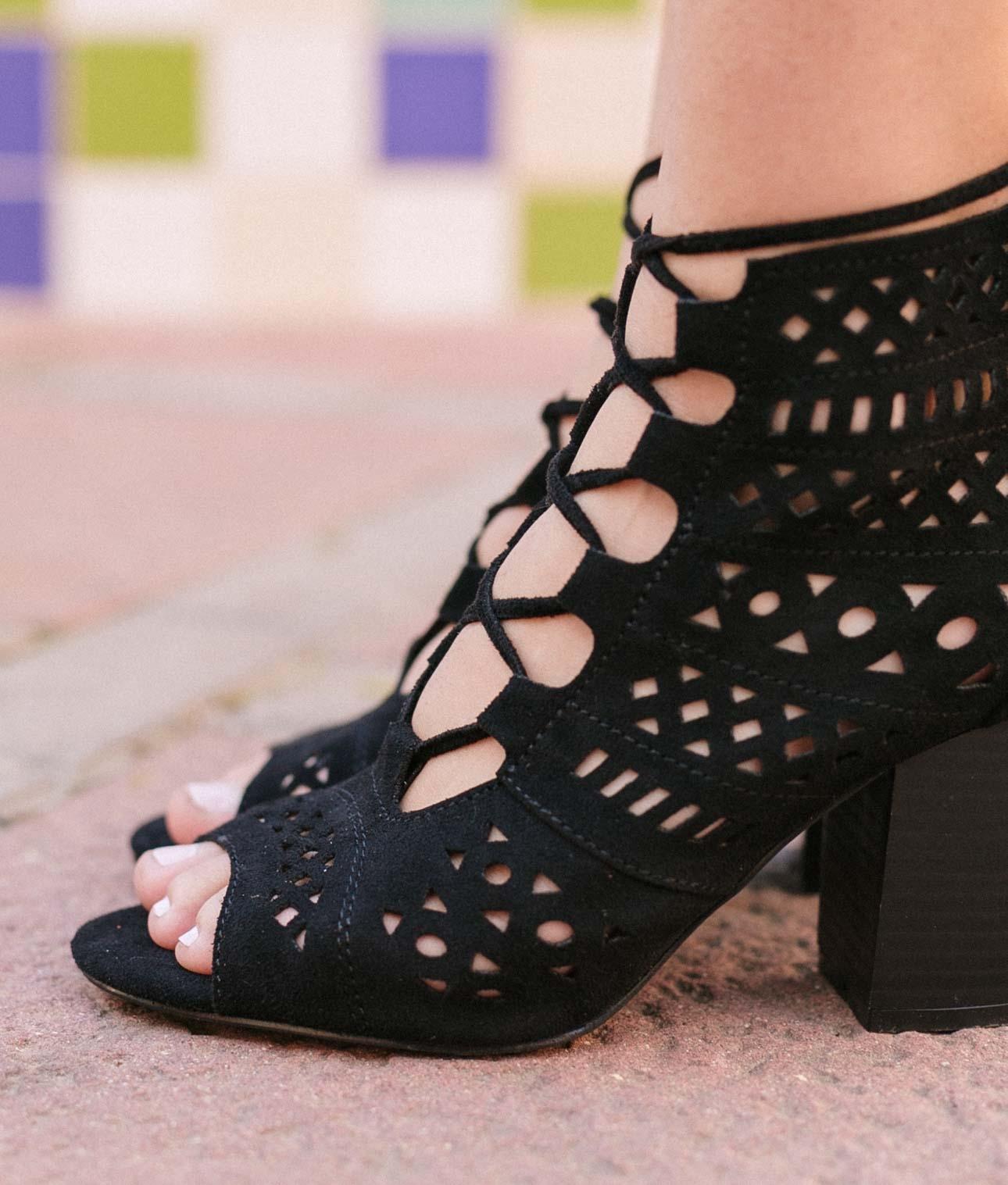 High Sandal Benani - Black