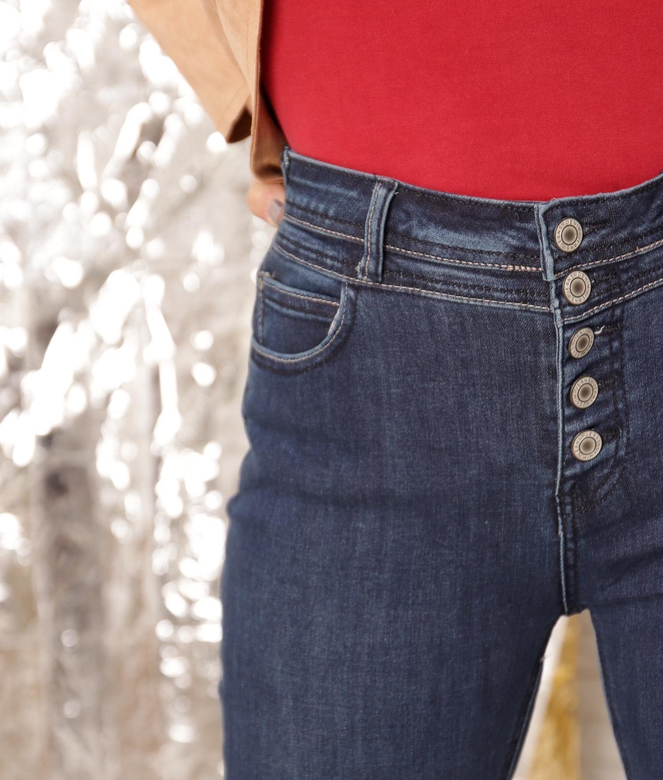 Trousers Lemnes - Dark Denim