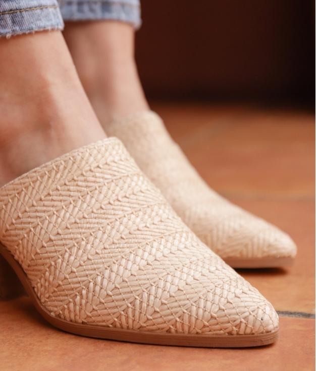 Zapato Mulé Ware - Beige