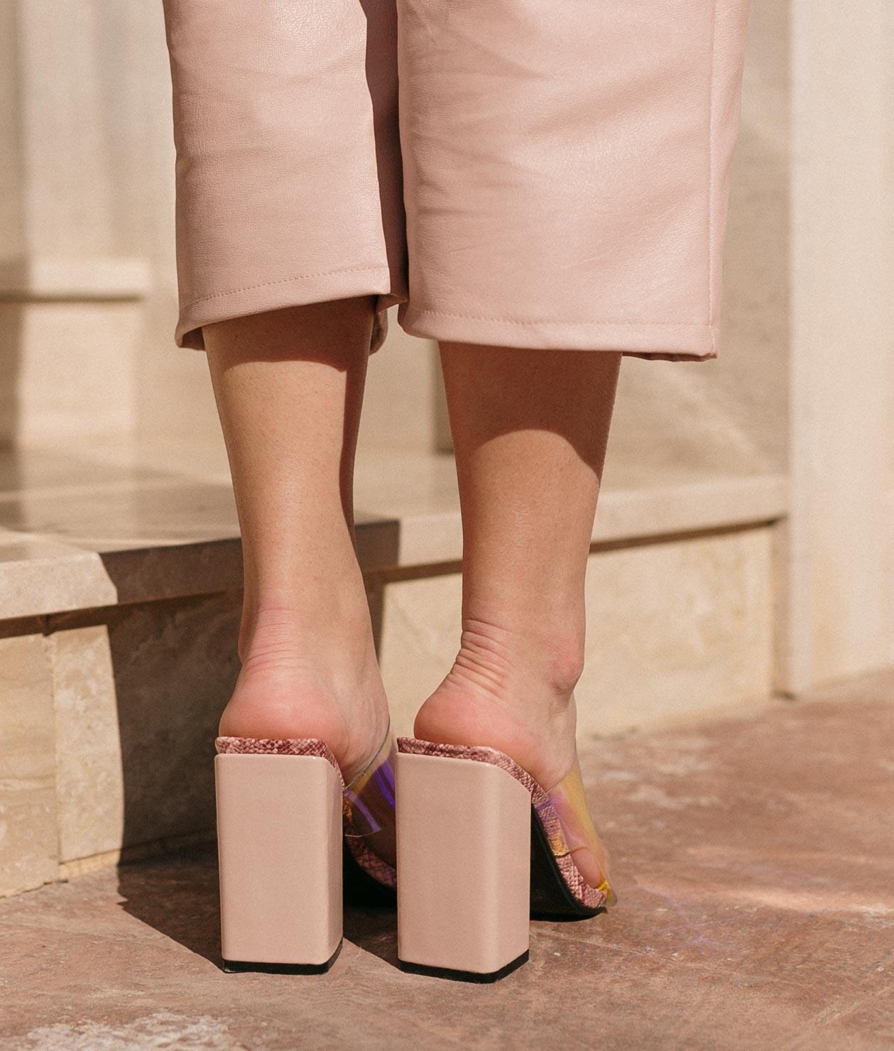 High Sandal Taner - Nude