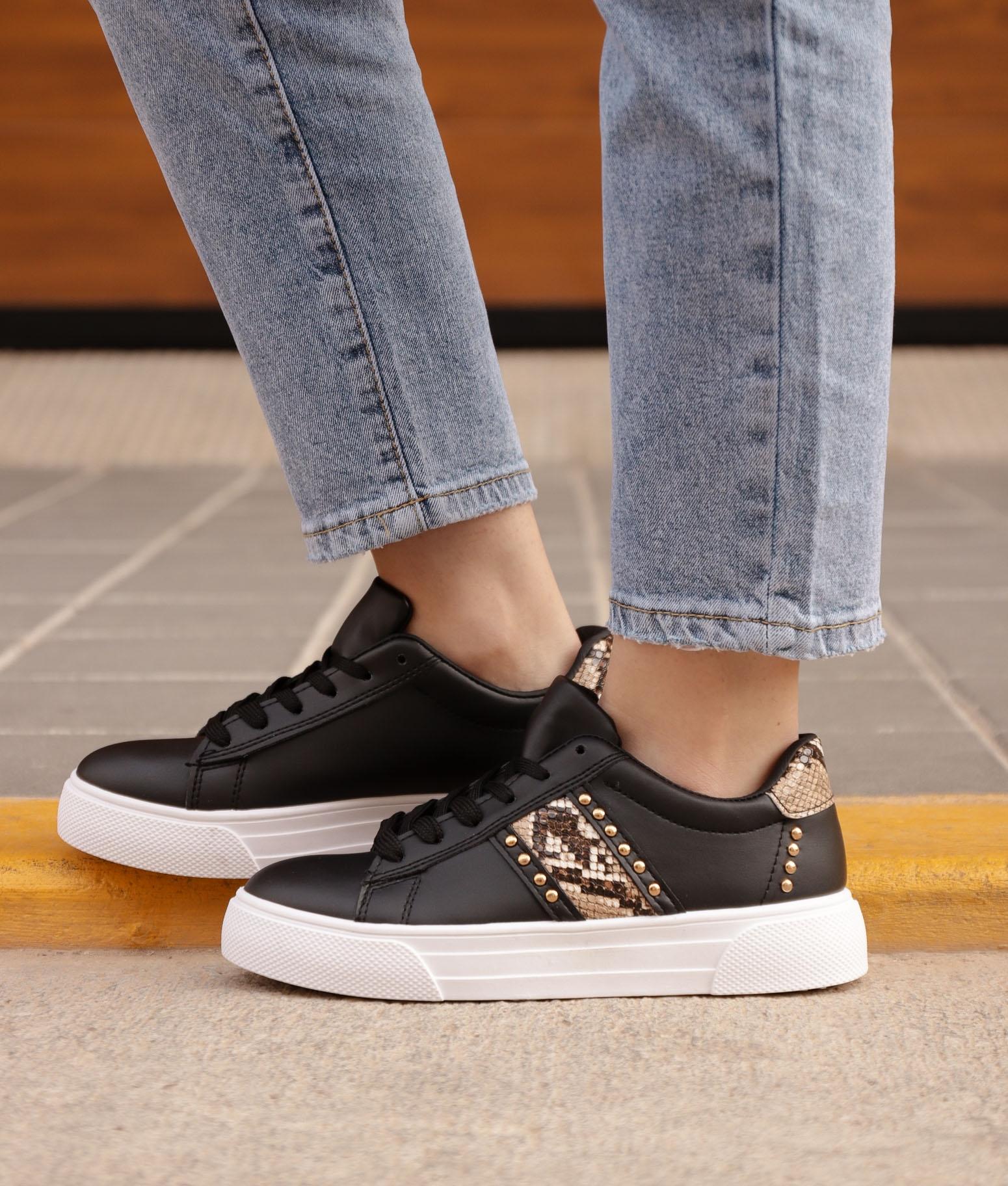 Sneakers Conpel - Negro