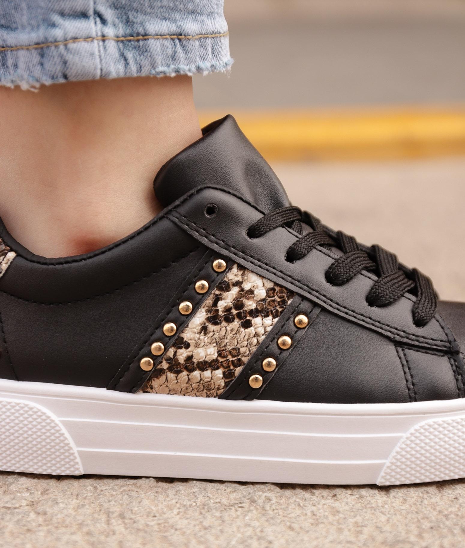 Sneakers Conpel - Preto