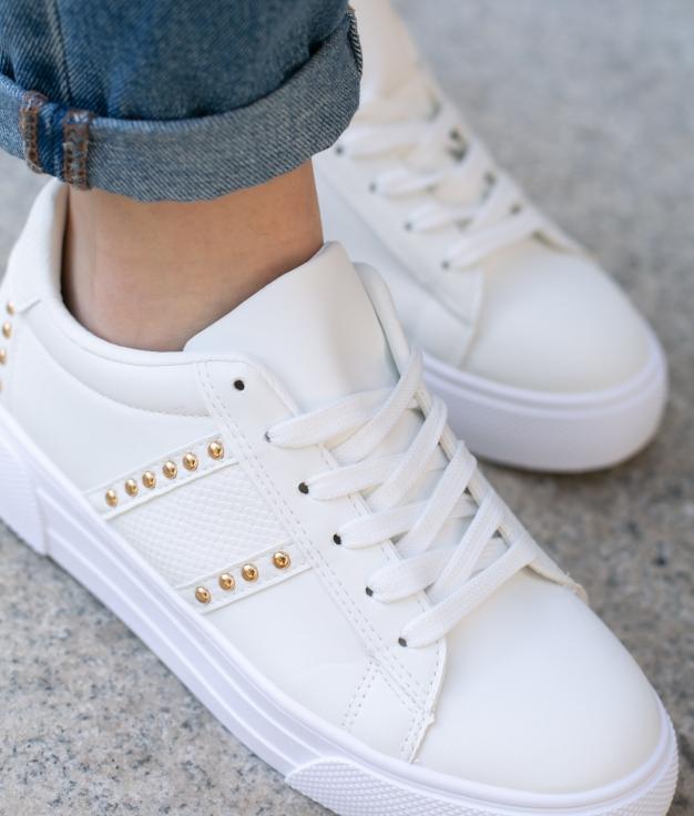 Sneakers Bunburi - Bianco