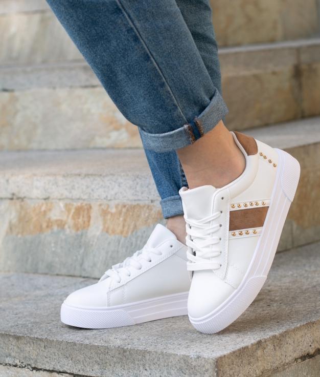 Sneakers Bunburi - Cammello