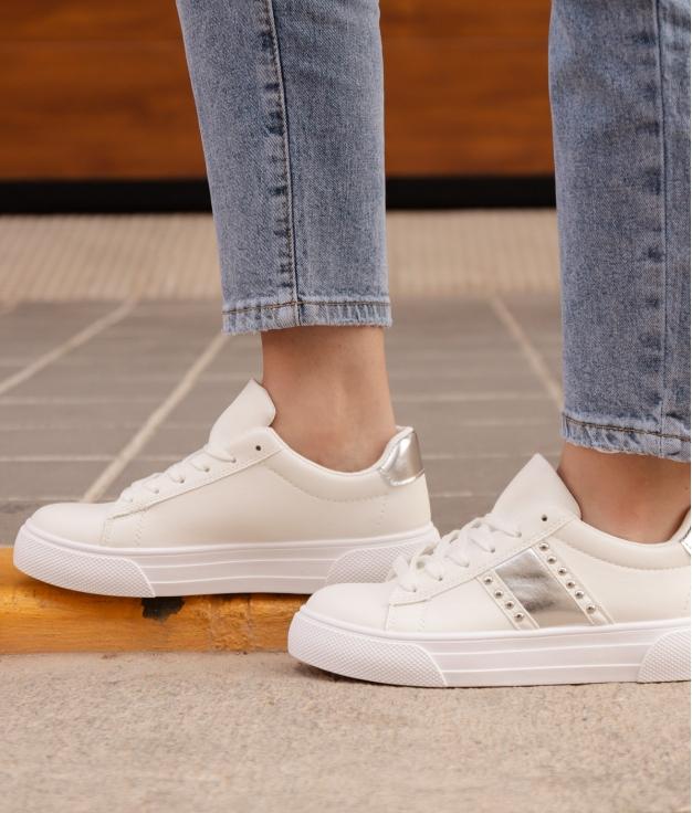 Sneakers Bunburi - Argento