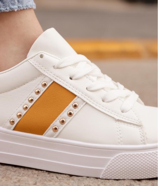 Sneakers Bunburi - Senape