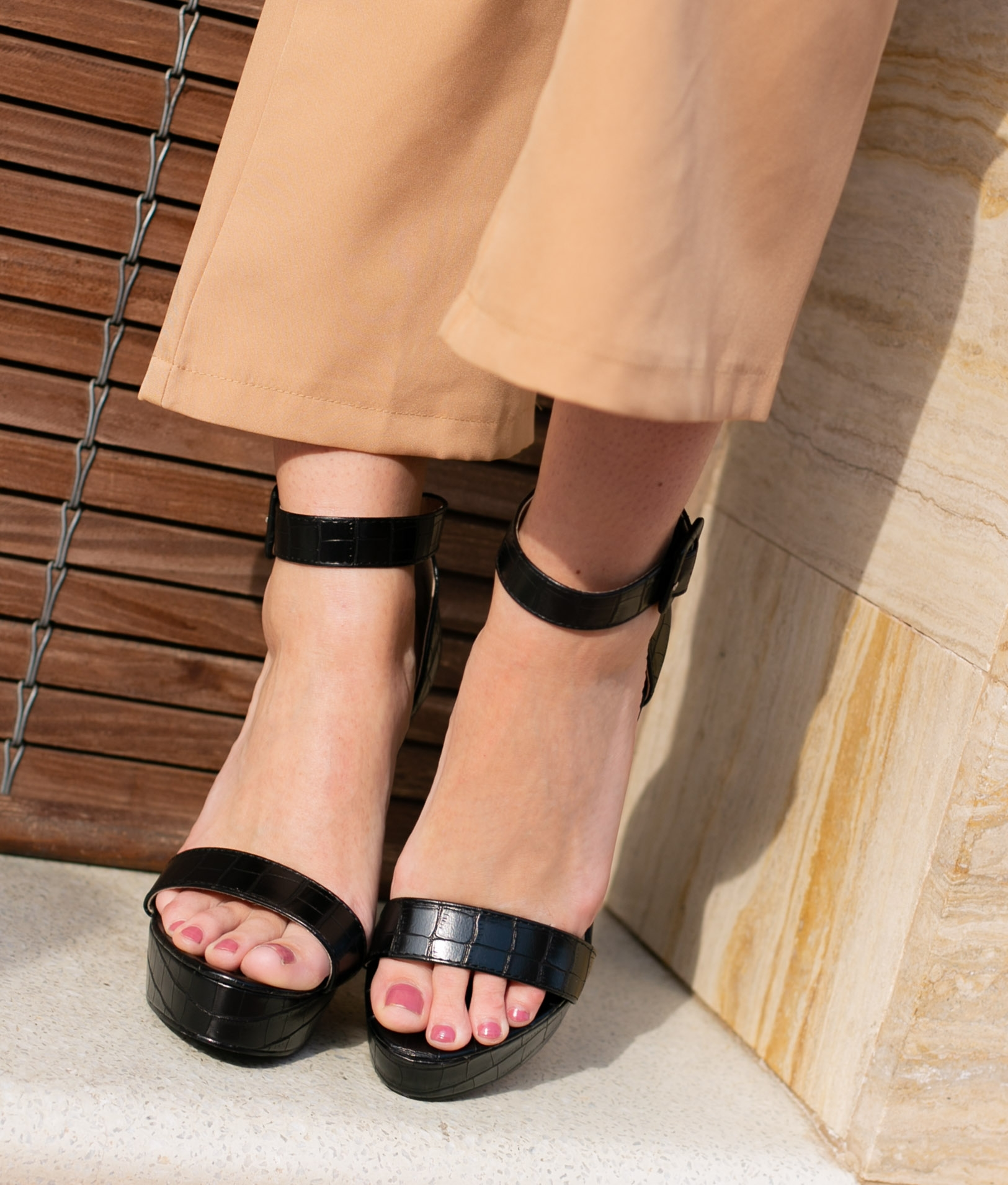 High Sandal Apadir - Black