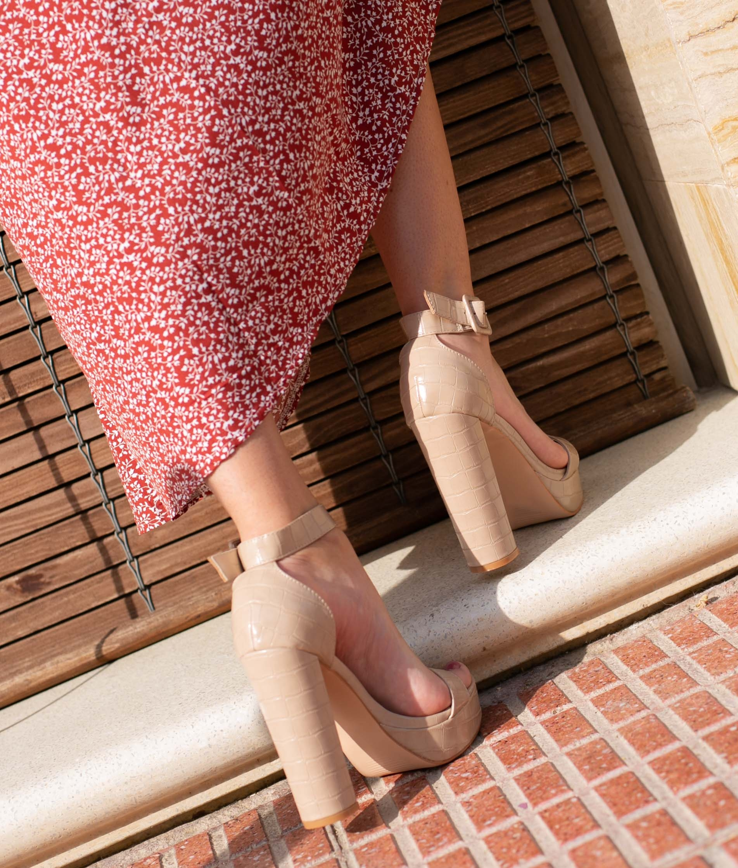 High Sandal Apadir - Pink