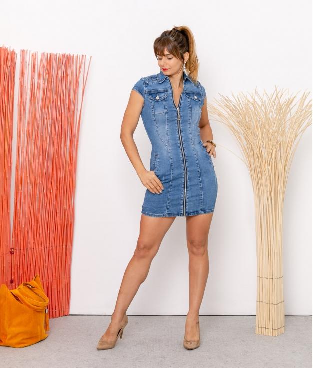 Vestido Jennie - Denim