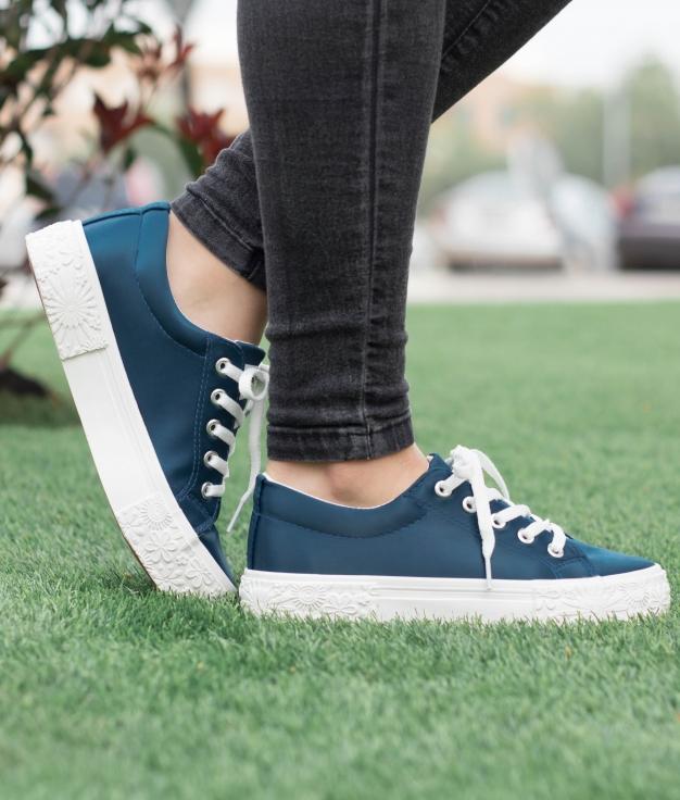 Sneakers Barroco - Blu