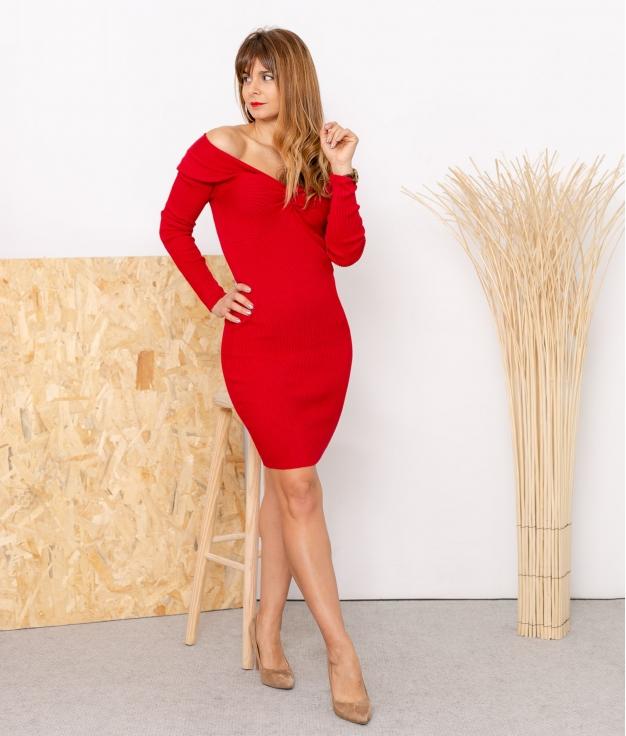 Vestido Cherry - Rojo