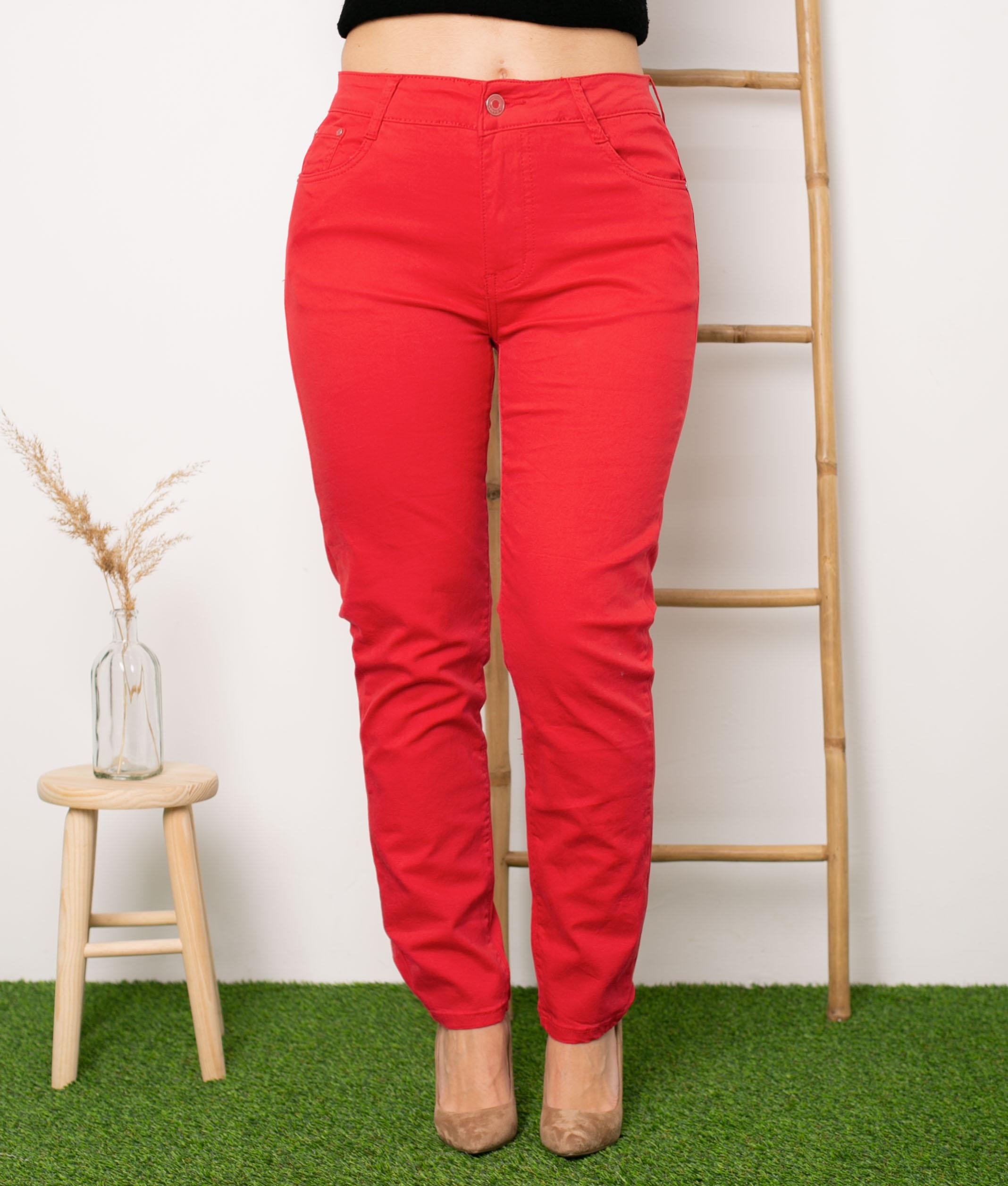 Pantaloni Jolyn - Rosso
