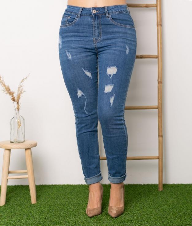 Pantalon Asia - Denim