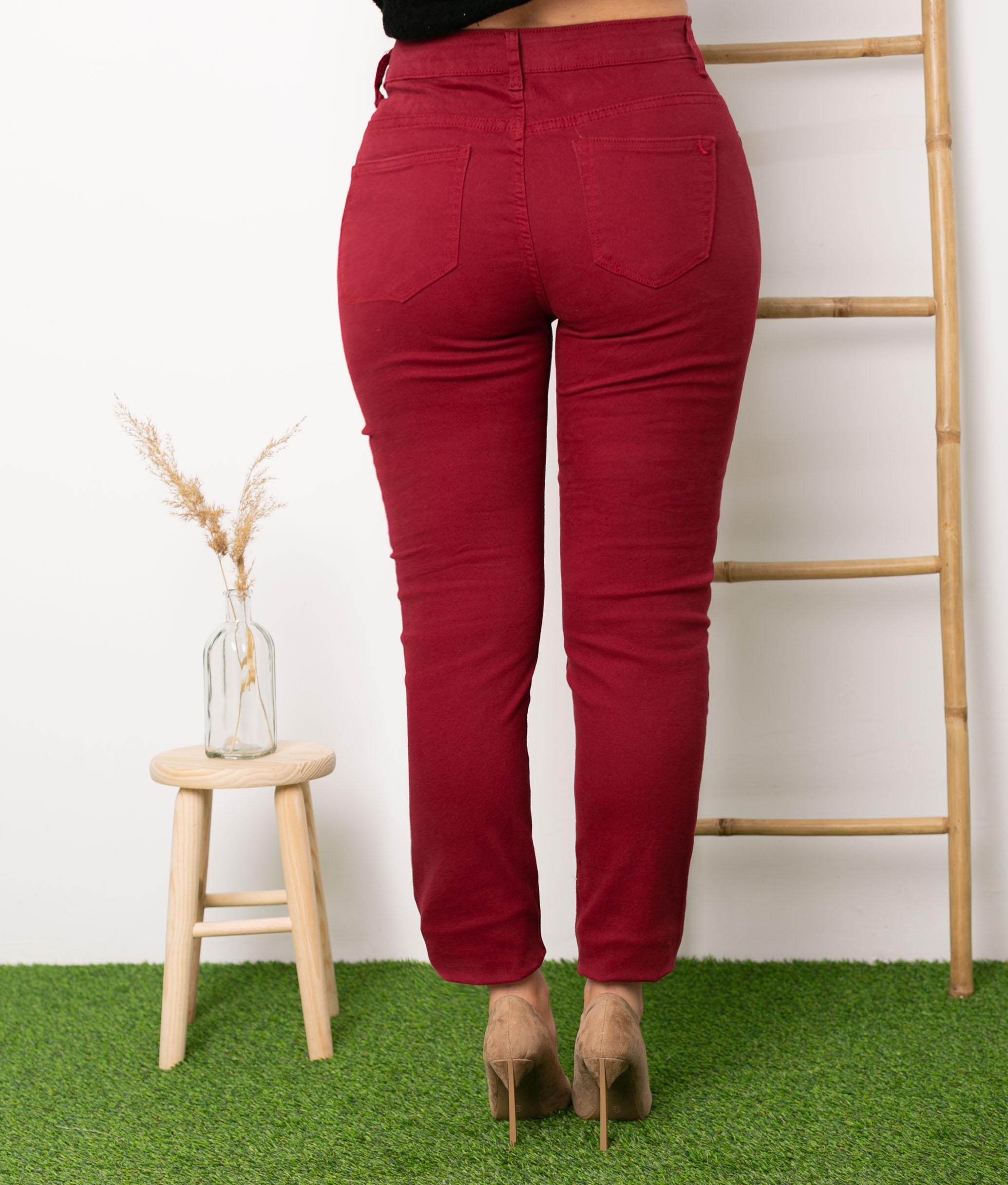 Pantalon Kahal - Grenat